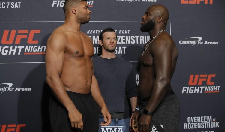 UFC – Curtis Blaydes vs. Jairzinho Rozenstruik ajouté à la carte de l'UFC 266