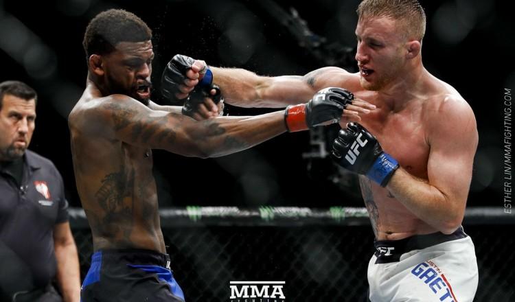 UFC – Kamaru Usman fait un sparring avec Justin Gaethje (Vidéo)