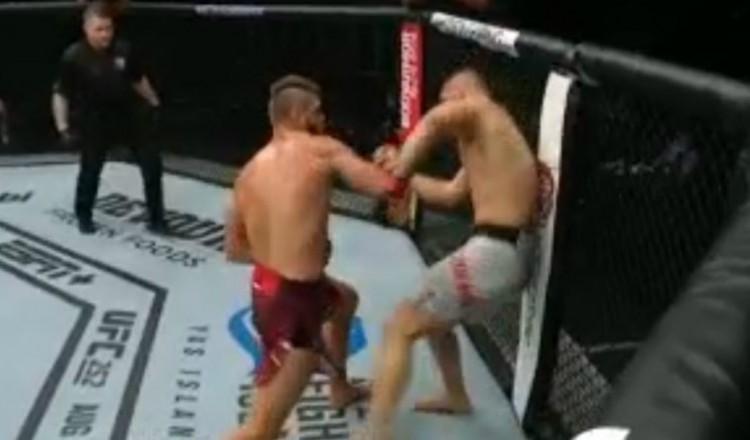 MMA: un débutant à l'UFC inflige un terrible KO à son adversaire