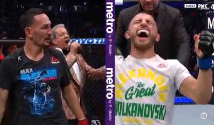 UFC 245: Volkanovski se paye Holloway, Nunes impériale