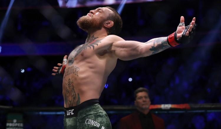 """UFC: après son retour triomphal, McGregor veut """"inscrire son nom dans l'histoire une fois de plus"""""""