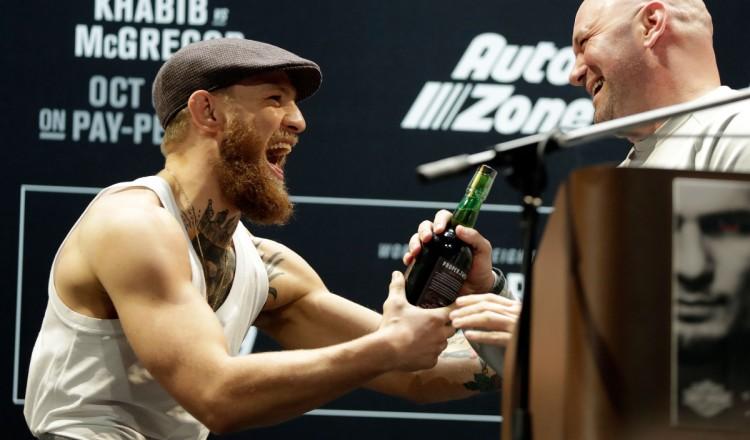 "UFC: Dana White le garantit, ""Conor McGregor ne combattra pas en 2020"""