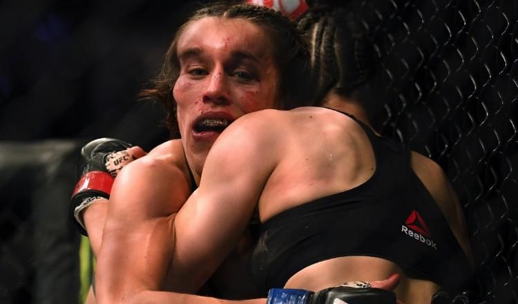 UFC: Joanna Jedrzejczyk, la combattante défigurée, donne de ses nouvelles