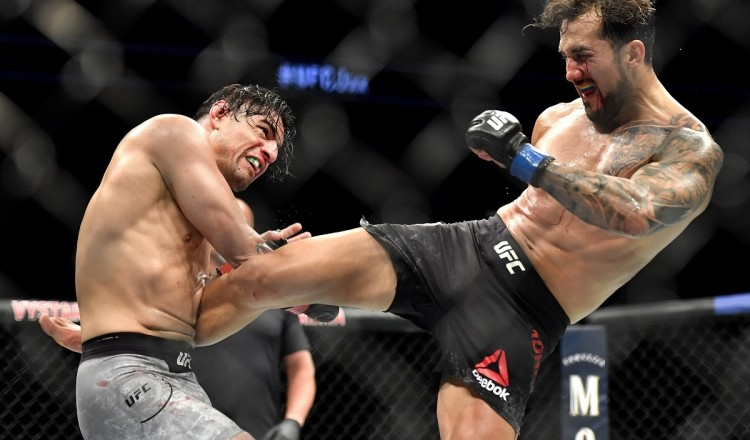 UFC: l'horrible blessure du Mexicain Gabriel Benitez