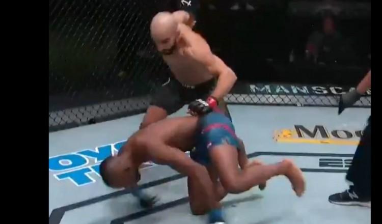 UFC: le Marocain Azaitar inflige un énorme TKO en 93 secondes