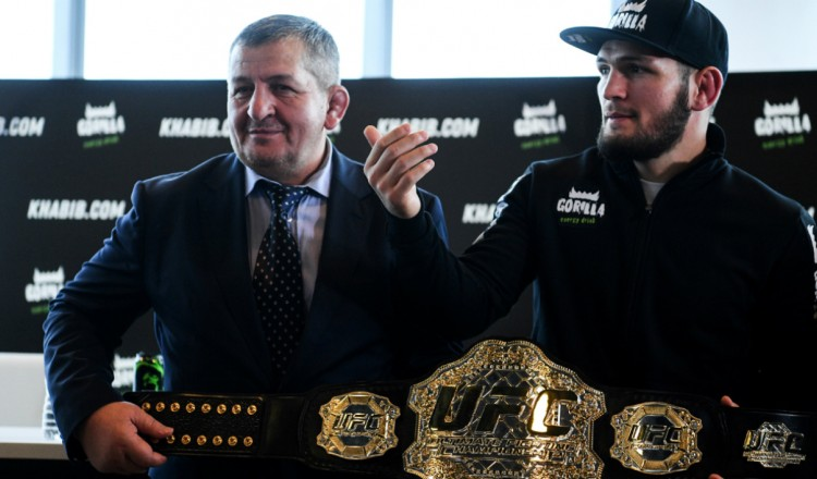 UFC: le père de Khabib Nurmagomedov est mort du coronavirus