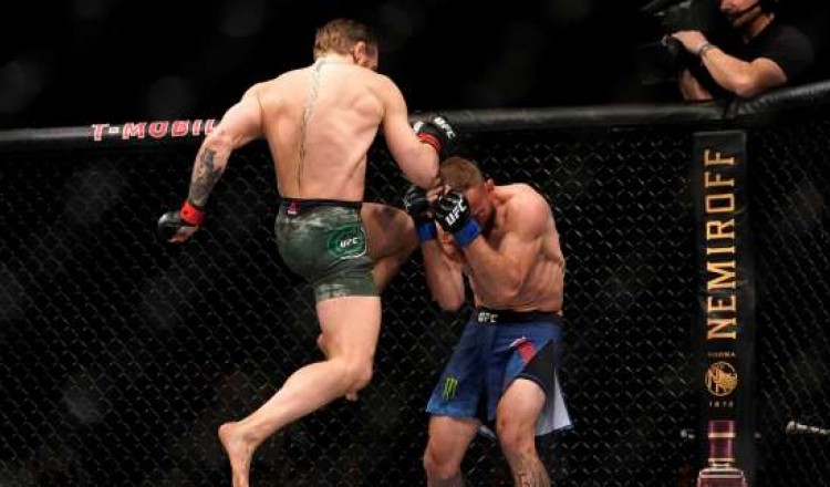 Un K.-O. en quarante secondes: le retour réussi deConor McGregor en MMA